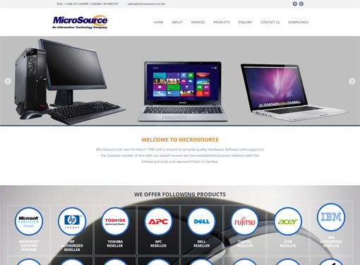 Wordpress Web Development Portfolio Image
